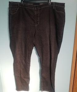 Black Avenue Jegging jeans plus size 30/32 average